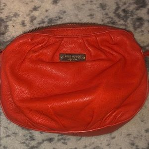 Kate Spade- Red Leather Crossbody Bag
